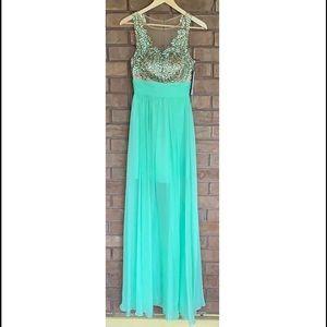 Sherri Hill Embellished Prom Dress Style 1945 NWT